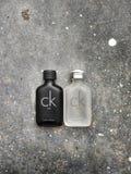 Bandar Seri Begawan/Brunei Darussalam - 19 mai 2019 : Les CK soient et le parfum des CK une a fait par Calvin Klein Perfume Compa photo libre de droits