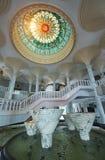 Bandar Seri Begawan, Brunei Darussalam-MARS 31,2017: Jame Asr Hassanil Bolkiah Mosque Arkivbild