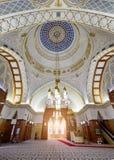 Bandar Seri Begawan, Brunei Darussalam-MARS 31,2017: Sultan Omar Ali Saifuddin Mosque Royaltyfri Fotografi