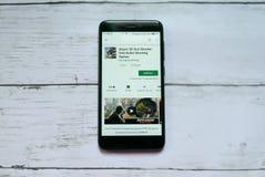 BANDAR SERI BEGAWAN,BRUNEI - JANUARY 21ST,2019 : Sniper 3D Gun Shooter : Free Bullet Shooting Games application on an android. Google Play Store stock photos