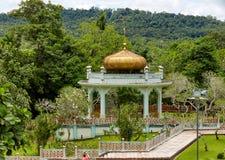 Bandar Seri Begawan, Brunei marzec 31,2017: Mauzoleum sułtan Bolkiah przy Kampung Kot Batu Zdjęcia Royalty Free