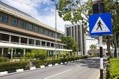 Bandar Seri Begawan Street Scene, Brunei Stock Photos