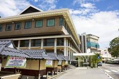 Bandar Seri Begawan Street Scene, Brunei Stock Photo
