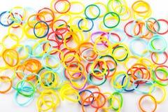 Bandas coloridas del pelo Imagenes de archivo