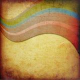 Bandas curvadas extracto imagen de archivo