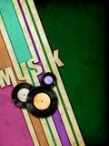 Bandas de la música del Grunge stock de ilustración