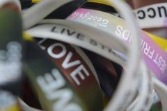 Bandas del amor Fotos de archivo libres de regalías