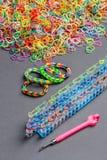 Bandas del telar del arco iris Fotografía de archivo libre de regalías
