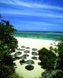 Bandas della spiaggia Fotografia Stock