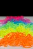 Bandas fosforescentes del telar Imágenes de archivo libres de regalías