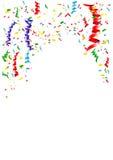 Bandbeståndsdelbakgrund för firar garnering stock illustrationer