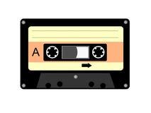 Bandcassette stock illustratie