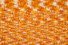 Bande élastique tricotée avec le fil acrylique de mélange Photos stock