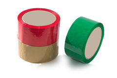 Bande adhésive d'emballage Image libre de droits