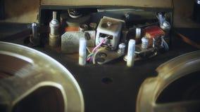 bande analogique de bobine d'enregistreur clips vidéos
