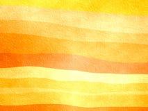 Bande arancioni illustrazione vettoriale
