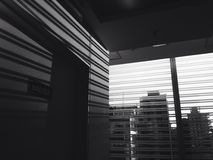 Bande in bianco e nero Fotografie Stock Libere da Diritti