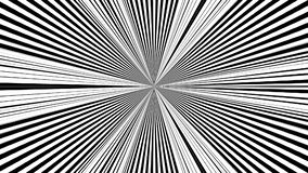 Bande in bianco e nero Il fondo astratto generato da computer, 3D rende illustrazione vettoriale