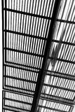 Bande in bianco e nero in una struttura Immagini Stock