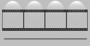 Bande blanc de film Images libres de droits