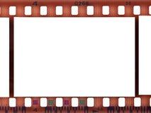 Bande blanc de film Images stock