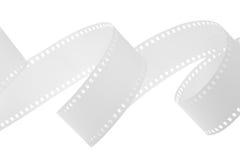 Bande blanche de film Photo stock