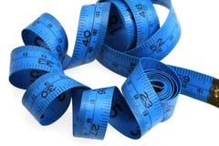 Bande bleue de mesure Image libre de droits