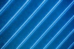 Bande blu ad angolo Fotografia Stock Libera da Diritti