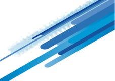 Bande blu astratte Fotografia Stock Libera da Diritti