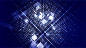 Bande blu rappresentazione 3d Fotografie Stock Libere da Diritti