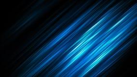 Bande brillanti astratte blu eleganti Fotografie Stock
