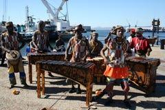 Bande à Capetown Photographie stock