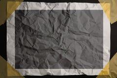 Bande collante coincée par papier Photo libre de droits