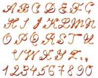 Bande d'alphabet Photo libre de droits