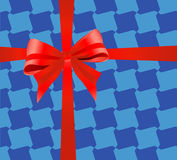 Bande d'emballage de cadeau Photos libres de droits