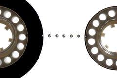 Bande de cassette sonore photos libres de droits