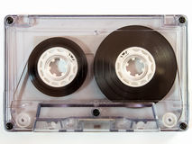 Bande de cassette sonore image stock