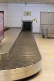 Bande de conveyeur d'aéroport Images libres de droits