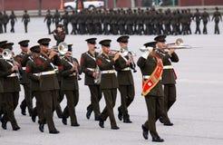 Bande de corps des marines d'Etats-Unis Photos libres de droits
