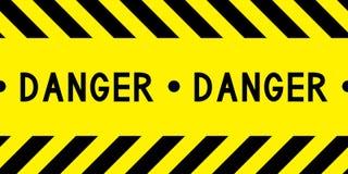 Bande de danger illustration libre de droits