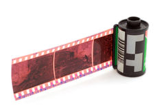 Bande de film Photographie stock