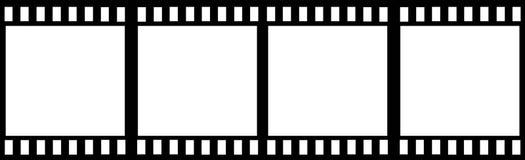 Bande de film Image libre de droits