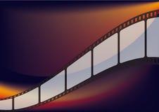 Bande de film Photographie stock
