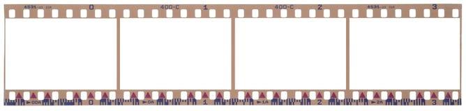 Bande de film avec des chemins de découpage Illustration Stock