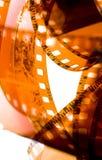 bande de film de 35 millimètres Photos libres de droits