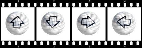 bande de film de curseur illustration libre de droits