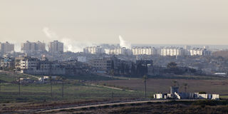 Bande de Gaza Photographie stock libre de droits