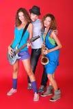 Bande de jazz Photographie stock libre de droits