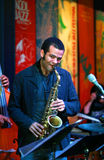 Bande de jazz Image libre de droits