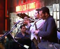 Bande de jazz Image stock